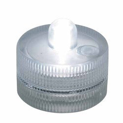"Submersible LED  light with battery. white. 1""x1 1/4""d. Sold in pack of 12 $34.99 (2.92ea)"