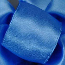 "Supreme ribbon wired 1 1/2"" x 15 yrd.Blue berry  $14.99"