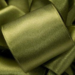 "Supreme ribbon wired 1 1/2"" x 15 yrd. Banana green $14.99"