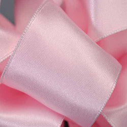 "Supreme ribbon wired 1 1/2"" x 15 yrd.Soft pink  $14.99"