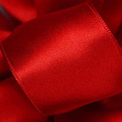 "Supreme ribbon wired 1 1/2"" x 15 yrd. Red $14.99"