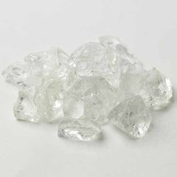 Crushed Glass 46oz- 10mm- Shown Clear