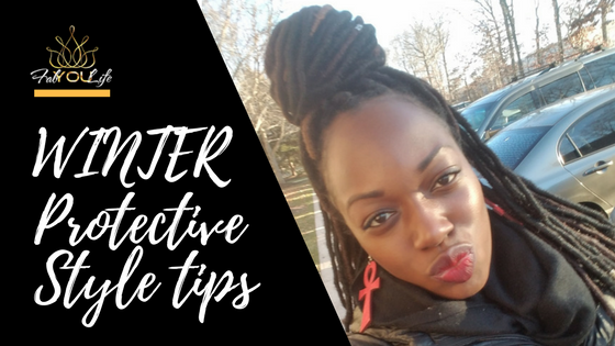 Winter Protective Style Tips - Faux Locs