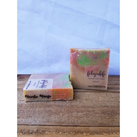 Mambo Mango Soap - FabYouLife Luxury HairCare and SkinCare