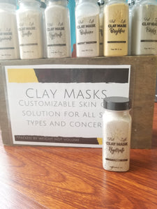 Clay Mask - FabYouLife Luxury HairCare and SkinCare