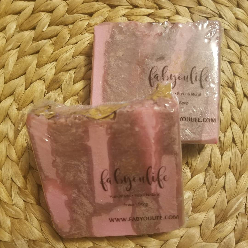 Moroccan Velvet Soap - FabYouLife Luxury HairCare and SkinCare