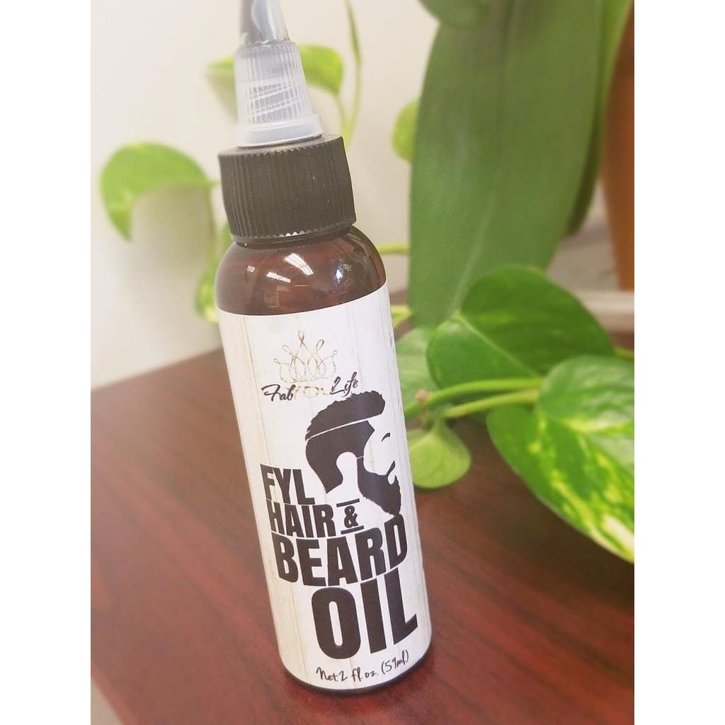 FYL Hair & Beard Oil - FabYouLife Luxury Hair and Skin Care