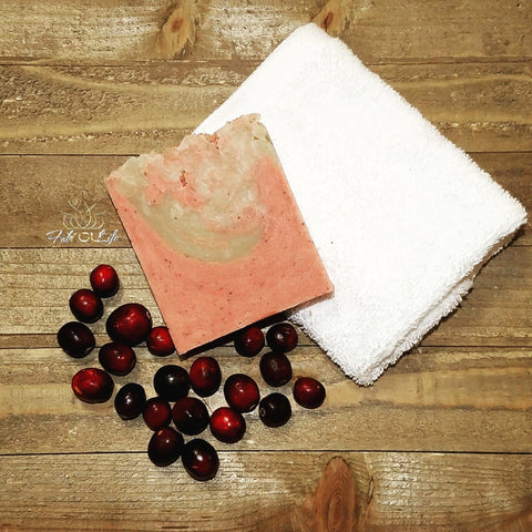 Cranberry Molasses Soap