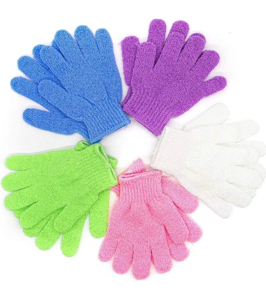 Exfoliating Body Gloves - FabYouLife Luxury HairCare and SkinCare