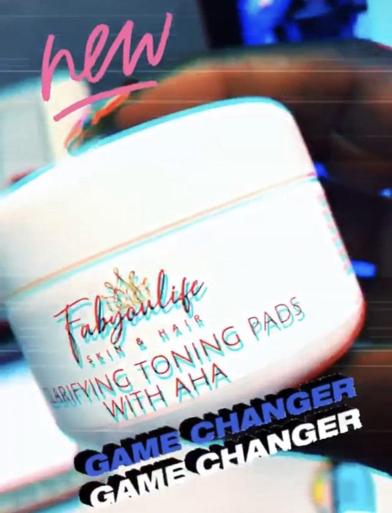 Clarifyng Toning Pads with AHA - FabYouLife Luxury HairCare and SkinCare