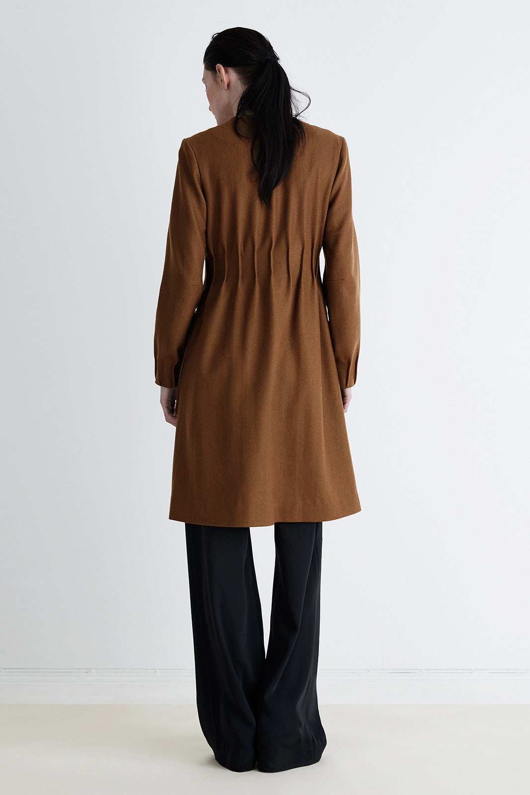 The long flap coat