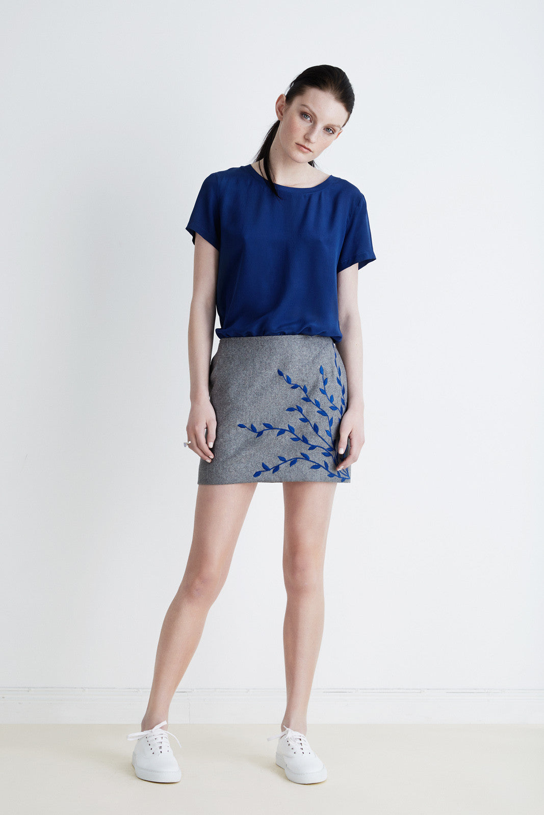 Perfect skirt embroidered
