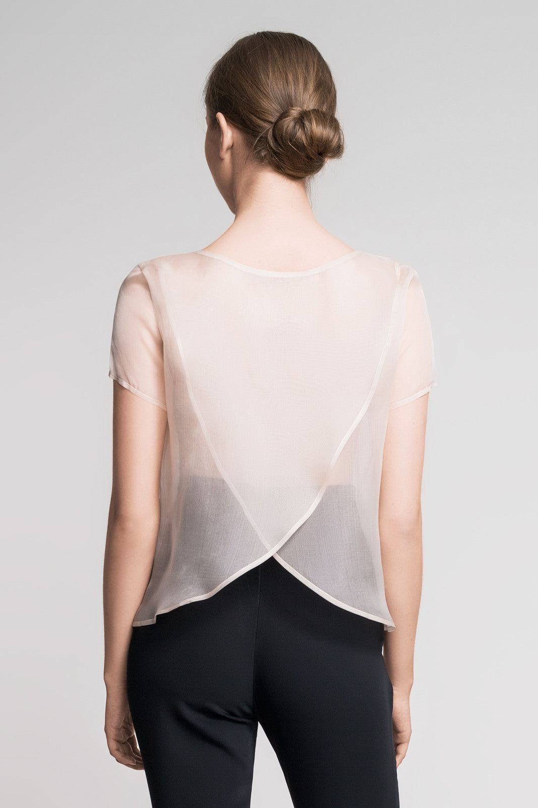 Hit me top organza