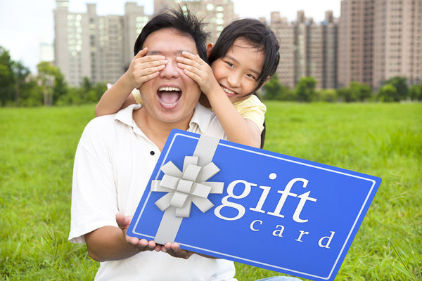 Giant Gift Cards - Don't give those little Gift Cards. Make a BIG IMPACT go Giant Sized!