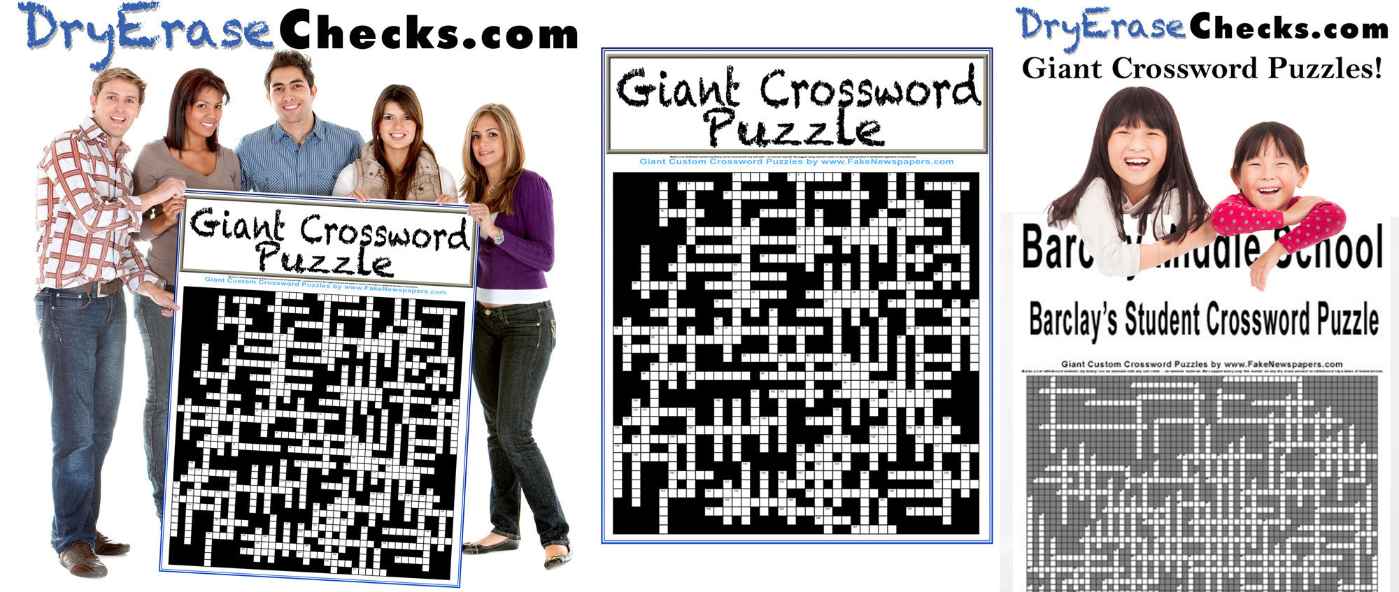 Custom Crossword Puzzle Gift