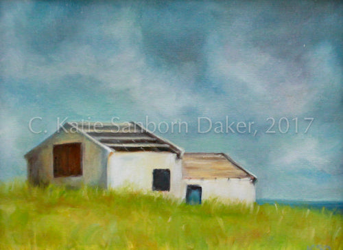 """Solitude"" Study Oil Painting by Katie Sanborn Daker"