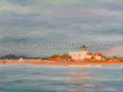 """Fourth of July"" Oil Painting by Katie Sanborn Daker"