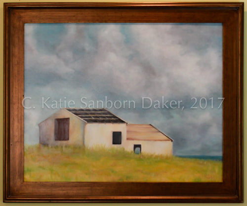"""Solitude"" Oil Painting by Katie Sanborn Daker"
