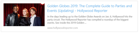 Golden Globes 2019: The Complete Guide to Parties and Events