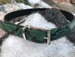 Royal Green (Silver or Gold Buckle)