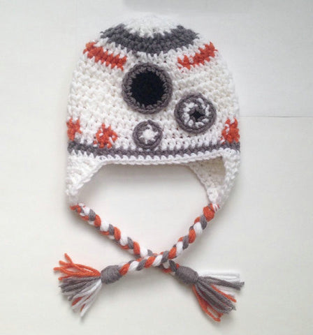 Star Wars BB-8 Knitted Beanie Hat for Baby Girls Boys Warm Winter Cap