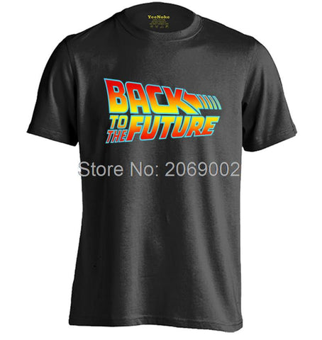 Back To The Future BTTF - Logo - T-Shirt