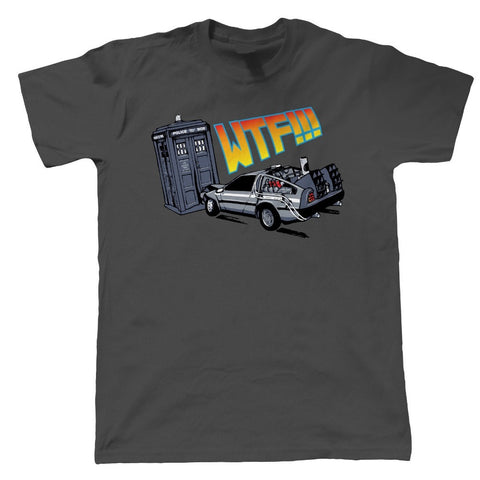Back To The Future - WTF Delorean - T-Shirt