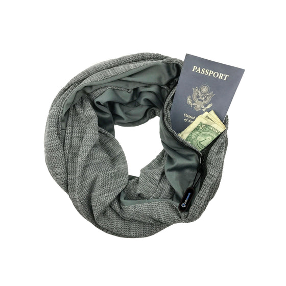 Wide Cut Convertible Infinity Scarf | Haze