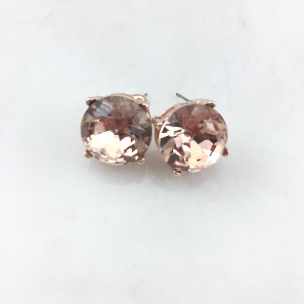 Rose Gold Earring Collection