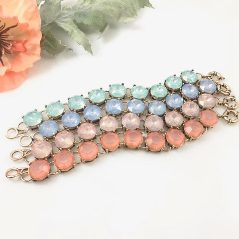 Opal Collection Crystal Bracelet