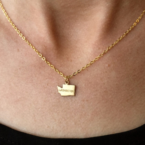 State LOVE Necklace