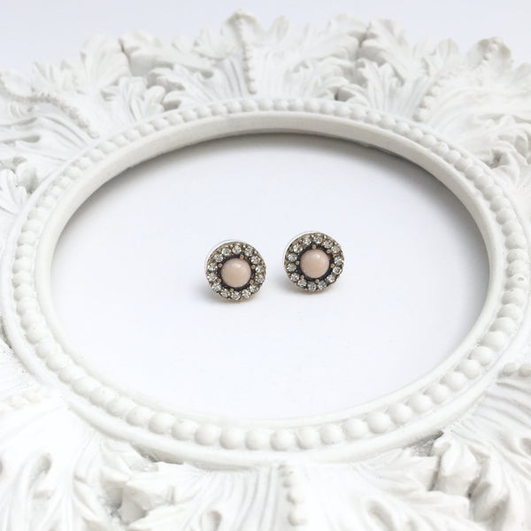 Luxe Blush Post Earrings