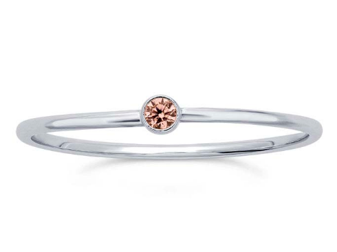 Sterling Silver Rose Stacking Ring