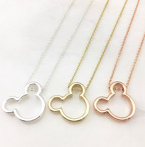 Favorite Mouse Character Necklace