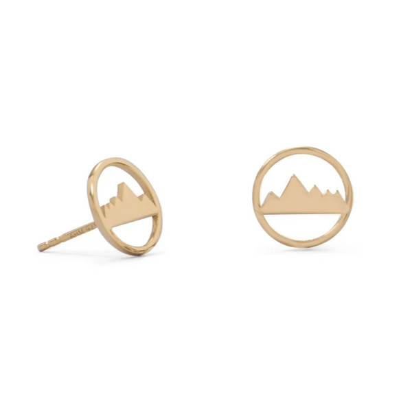 Mountain Mama 14K Earrings