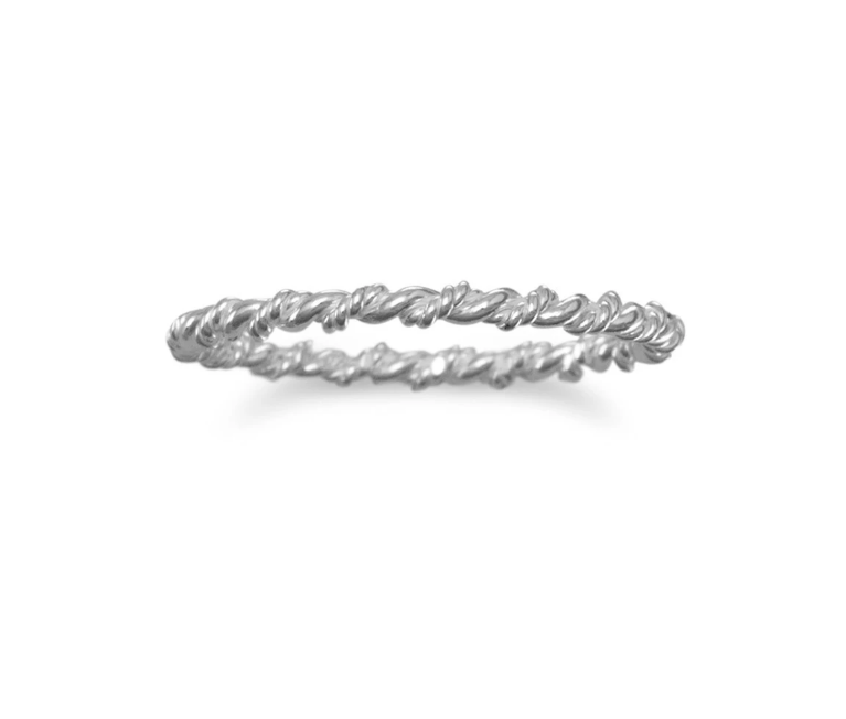 Sterling Twisted Ring