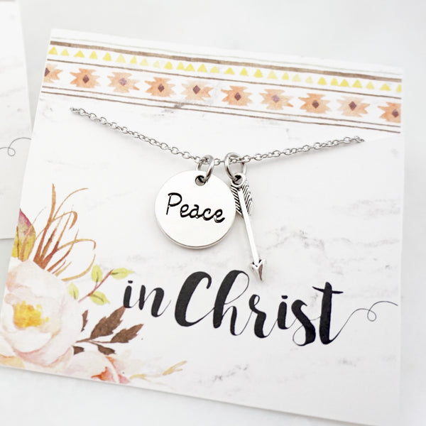 Peace in Christ Necklace