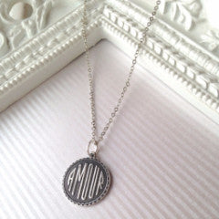 Vintage Amour Charm Necklace