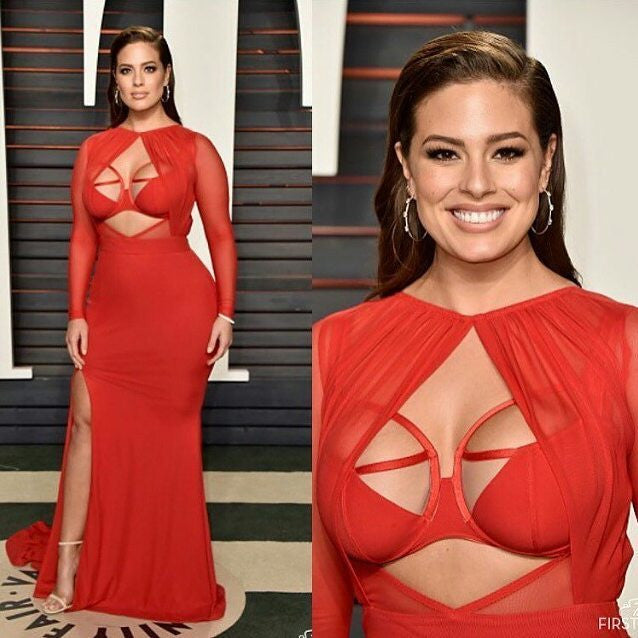 artemes lashes ASHLEY GRAHAM - Vanity Fair Oscar Party 2016