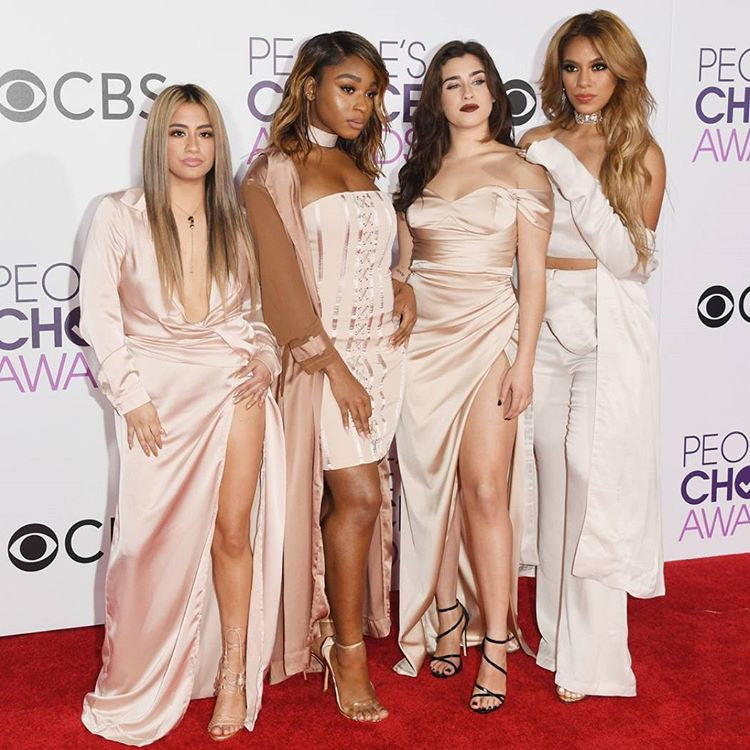 artemes lashes FIFTH HARMONY - People's Choice Awards 2017