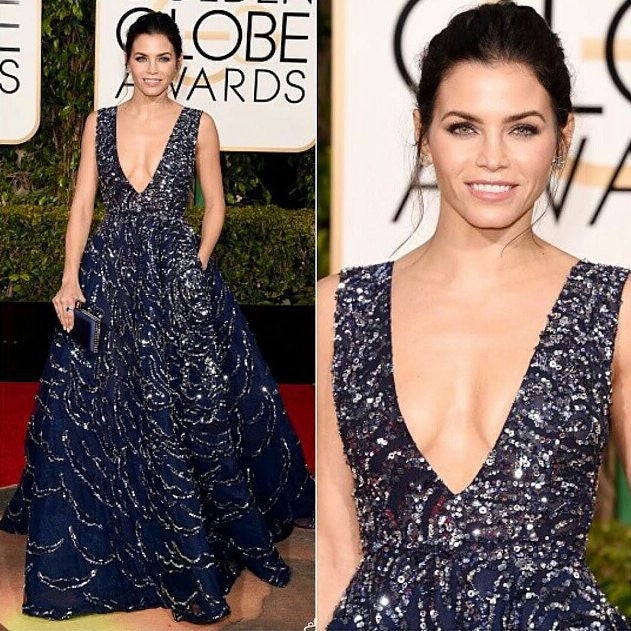 artemes lashes JENNA DEWAN TATUM - Golden Globes 2016