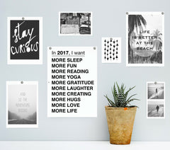 Forget New Years Resolutions! WHAT DO YOU WANT MORE OF IN 2017? - FREE PRINTABLE