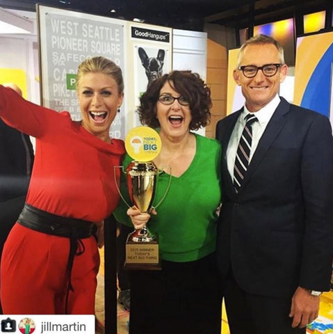 Goodhangups on the Today Show