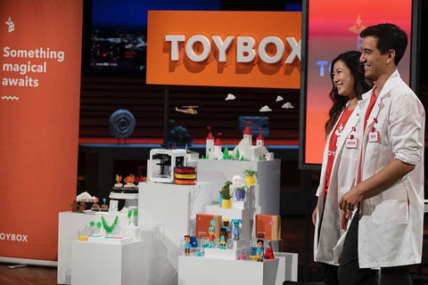 Toybox on Shark Tank - Deal with Kevin Oleary!