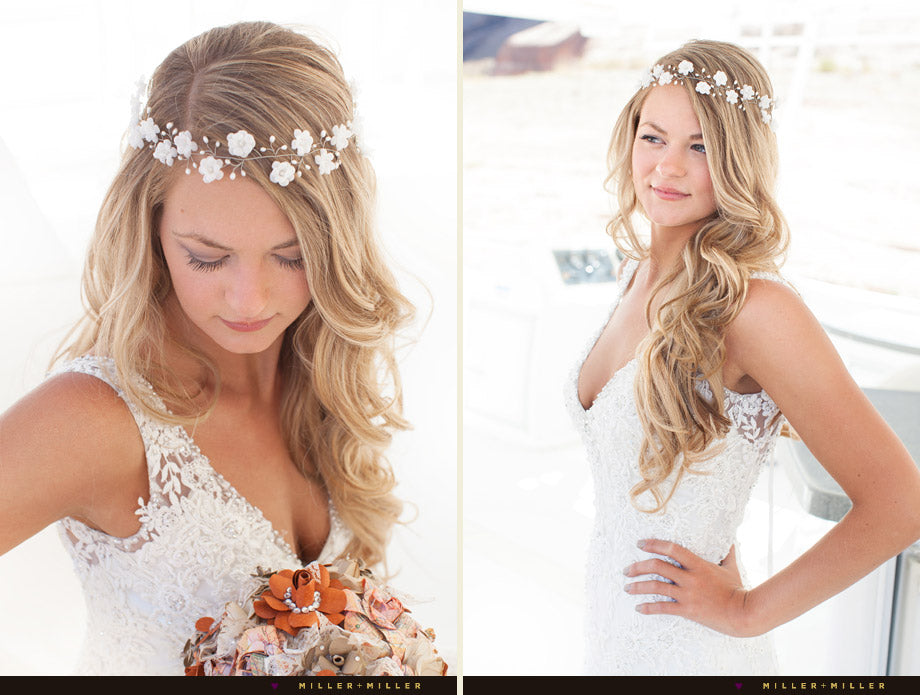 Real bride Arsiart headband