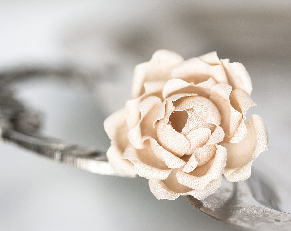 778beige flower fabric ring cotton ring nude color flower 778beige flower fabric ring cotton ring nude color flower flowers flower ring flower flower ring fabric rings textile jewellery mightylinksfo