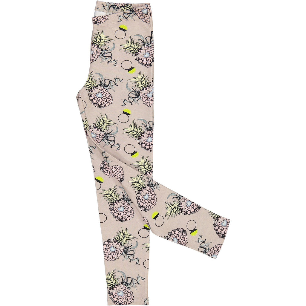 Småtrapp Leggings in Ananas Brides Print