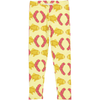 Småtrapp Leggings in Raspberry Fish Print
