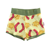 Duck shorts in Raspberry Fish Print