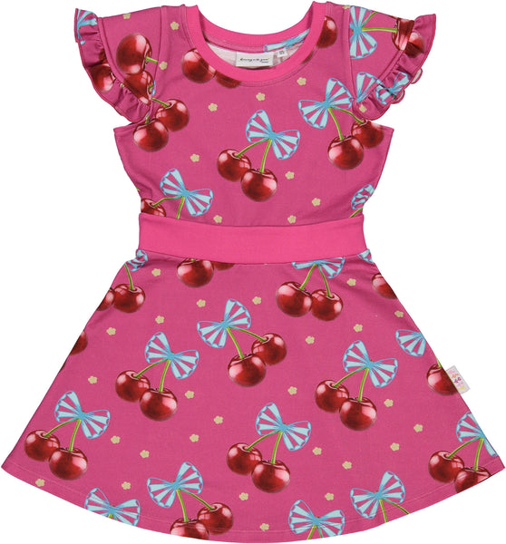 Svala Sweatdress in Cherries Bouquets Print